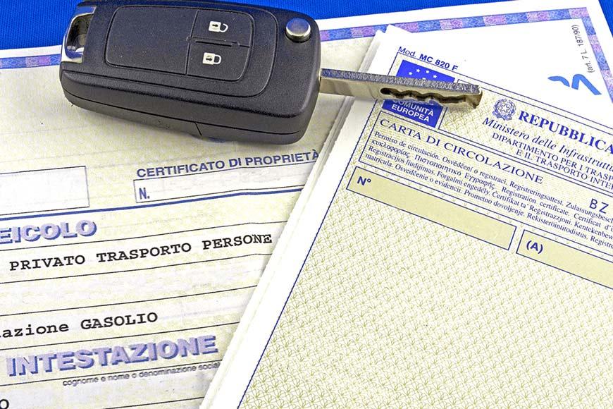 pratiche auto roma aci agenzia ilario